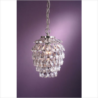Laura-Ashley-Lighting-Sharifa-One-Light-Mini-Pendant-in-Satin-Nickel