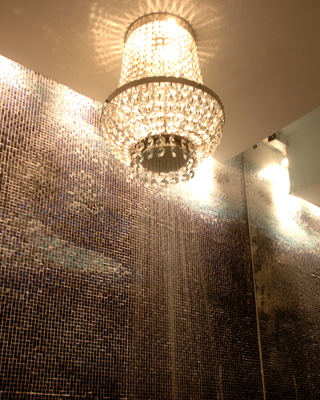 Mondrian shower head